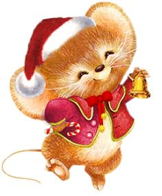 Christmas mouse clipart 2 » Clipart Station.