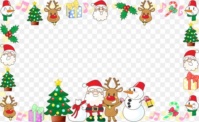 Santa Claus Christmas Ornament Illustration, PNG, 1300x800px.
