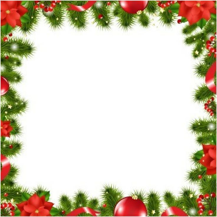 Christmas borders paper borders on frames clip art and free.