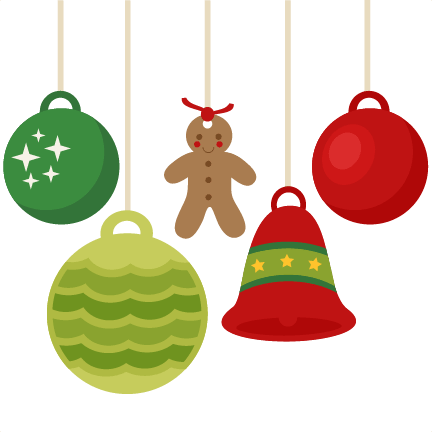 Christmas Ornaments Flat Design Png Min.