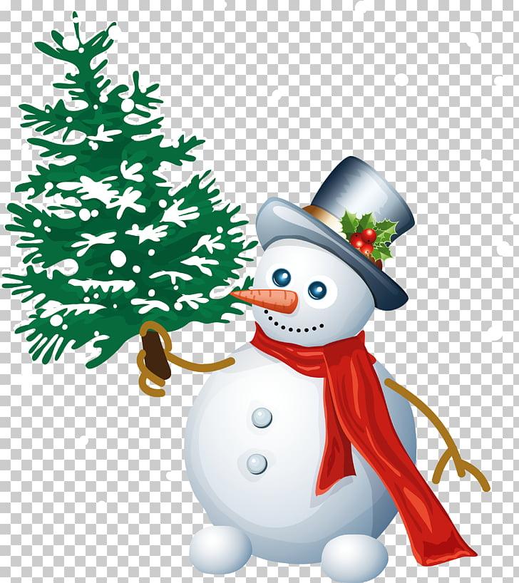 Snowman Christmas Santa Claus , Snowman with Tree , Snowman.