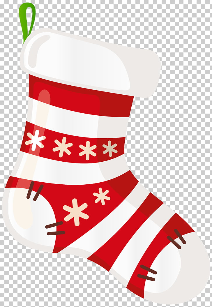 Christmas stocking , Christmas Stocking White Transparent.