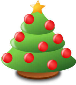 Cartoon Christmas Tree Clip Art at Clker.com.