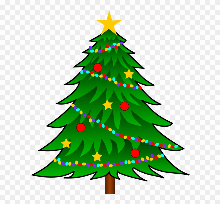 28 Collection Of Vector Clip Art Christmas Tree.