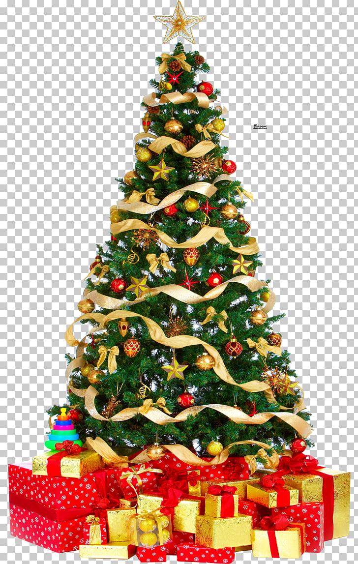 Christmas tree Gift , christmas tree PNG clipart.