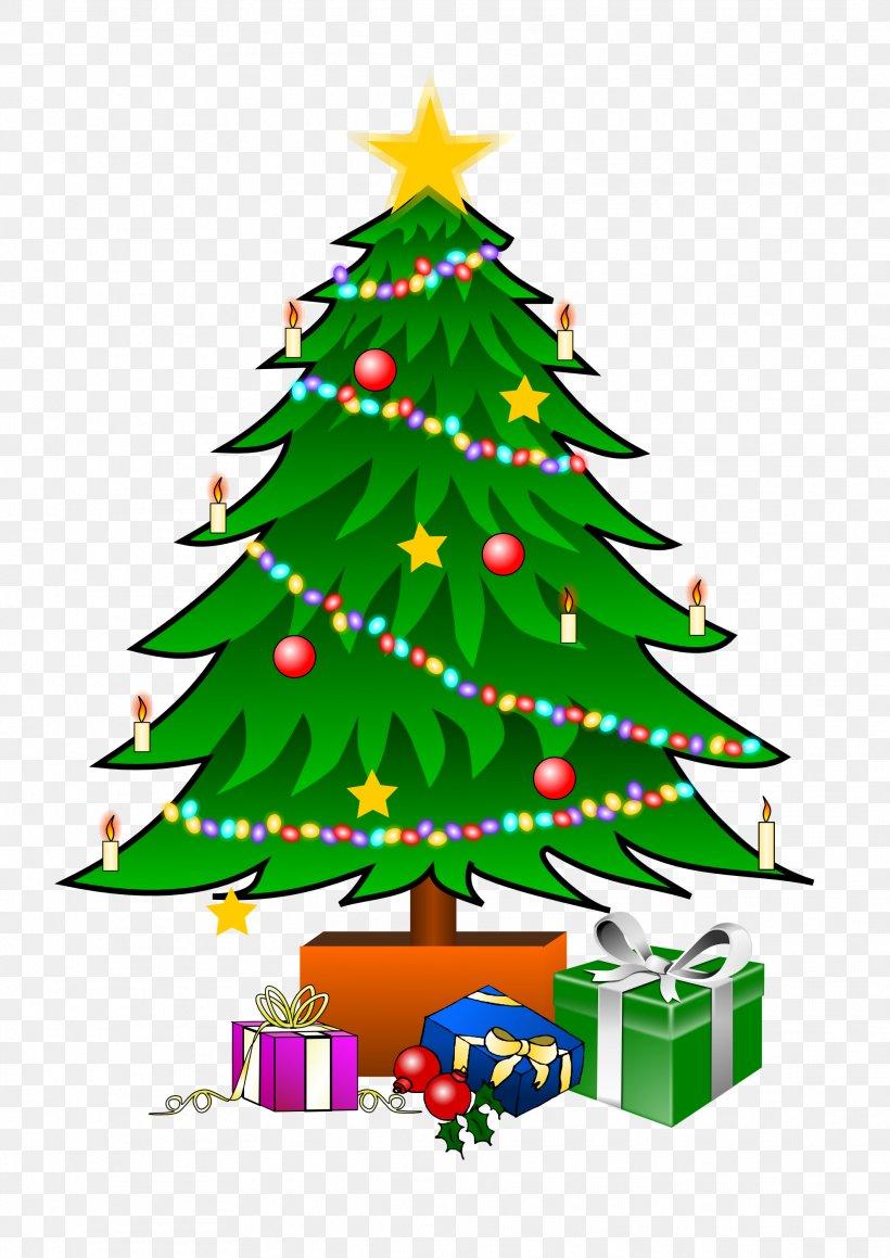 Christmas Tree Gift Clip Art, PNG, 1979x2799px, Christmas.