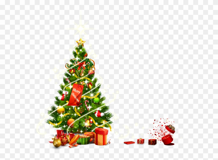 Christmas Tree Vector.