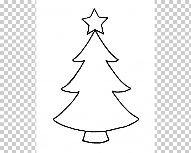 Clipart Outline Christmas Tree Images.