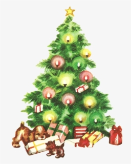 Free Vintage Christmas Clip Art with No Background.