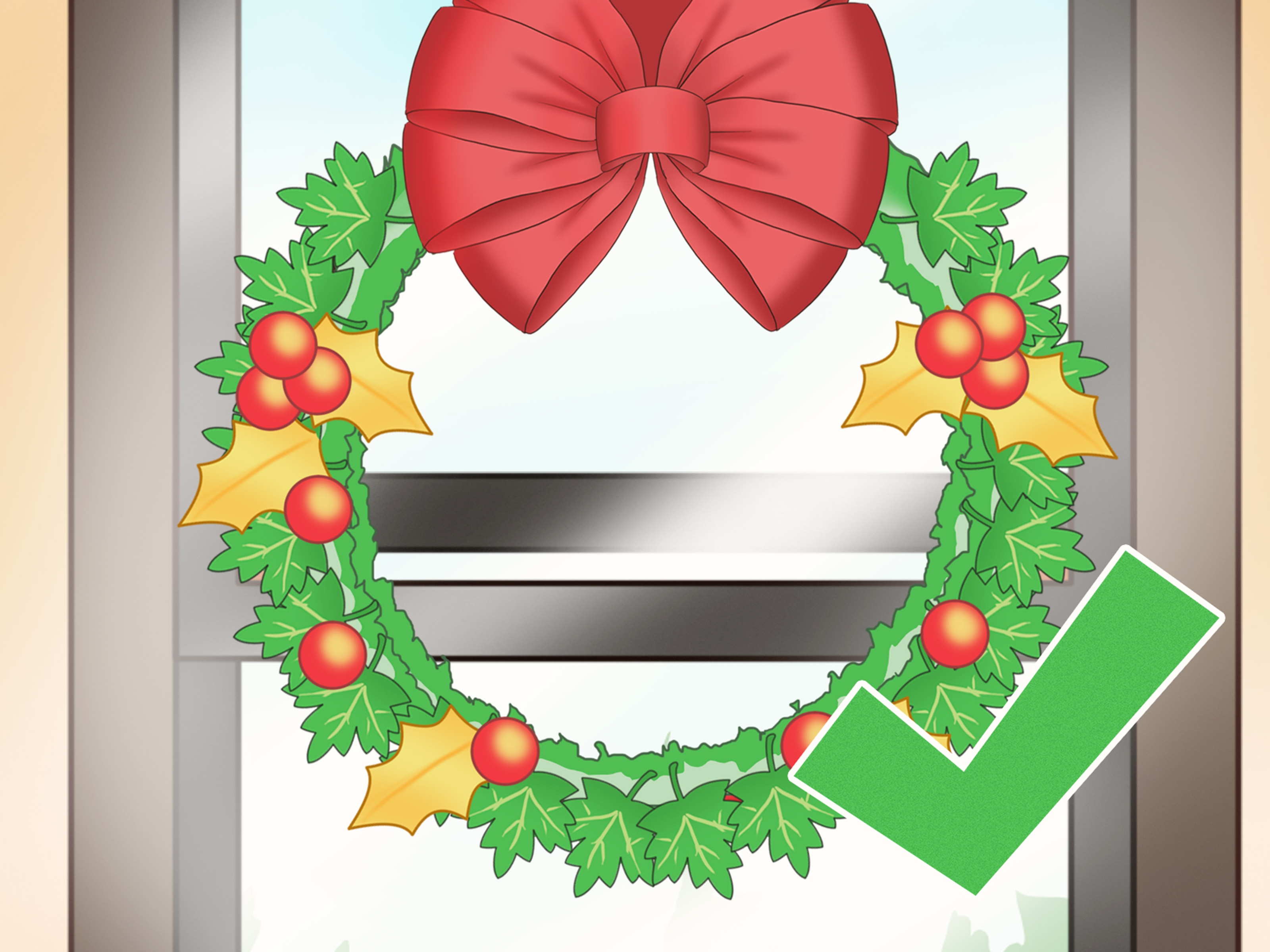 3 Ways to Hang a Wreath on a Window.