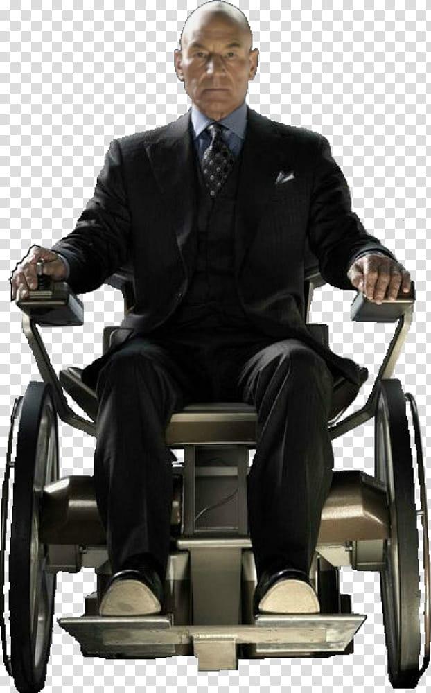 X Men Professor X Charles Xavier transparent background PNG.