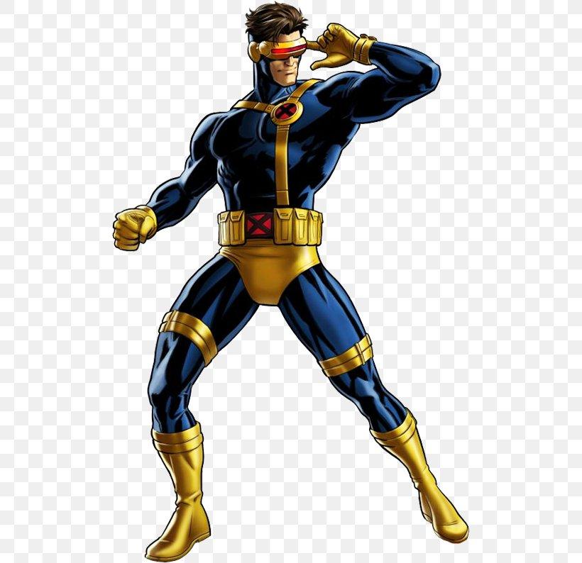 Marvel: Avengers Alliance Cyclops Professor X Jean Grey.