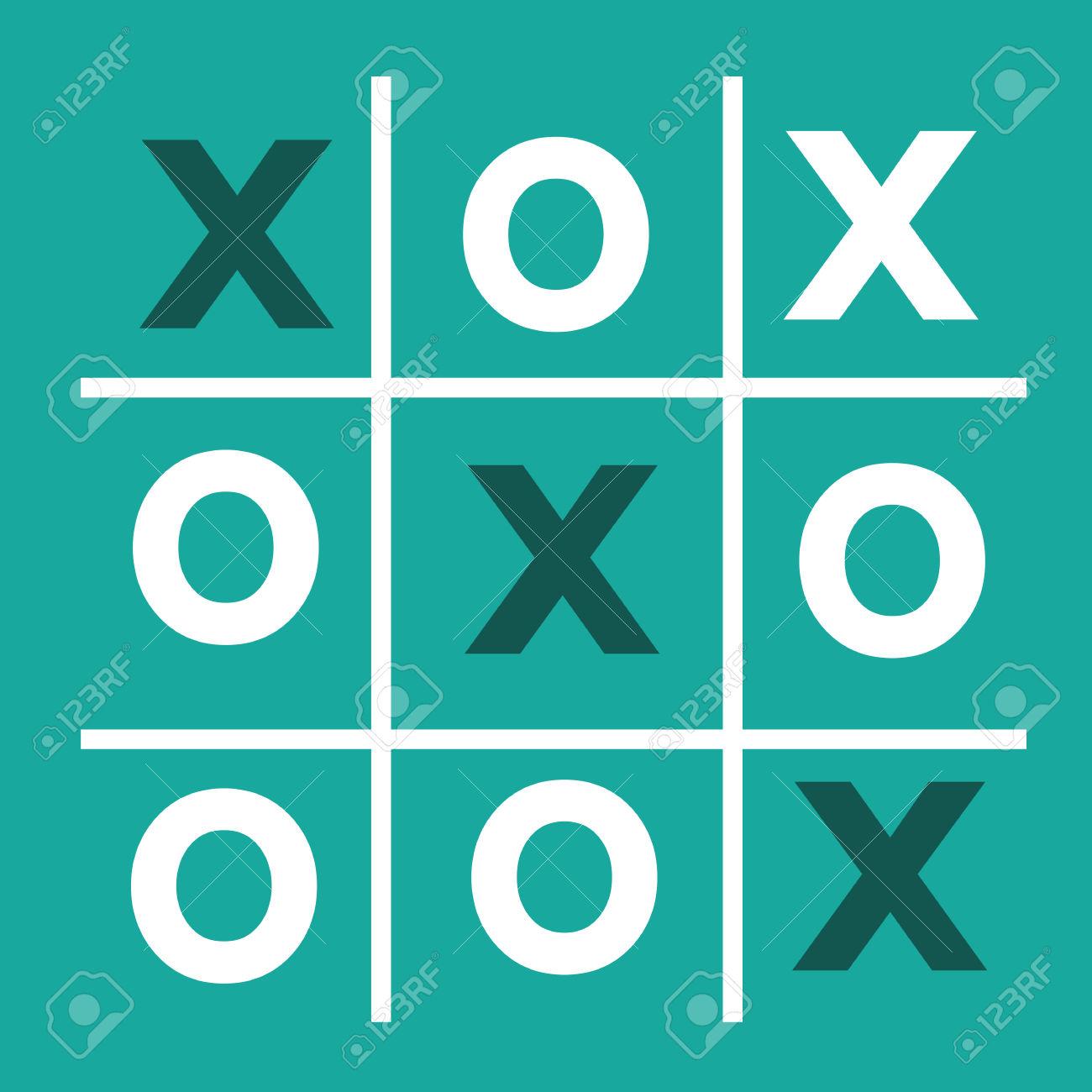 Tic Tac Toe XO Game , Tic, Tac, Toe, X, Game, O Royalty Free.