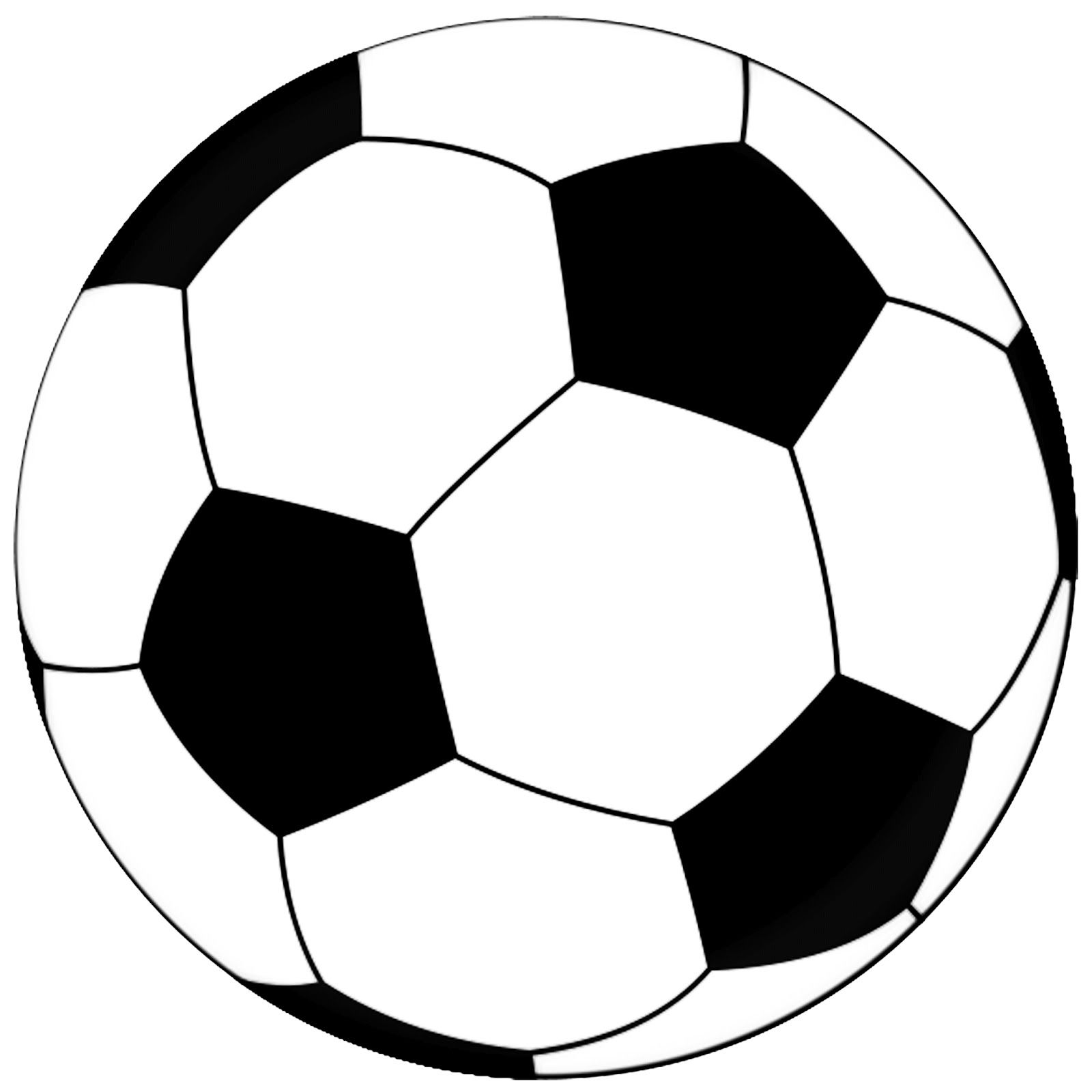 Best Photos of Soccer Ball Template.