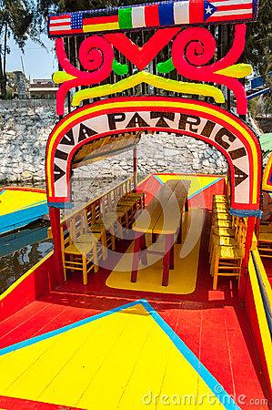 Floating Garden Xochimilco Mexico City Stock Photos, Images.