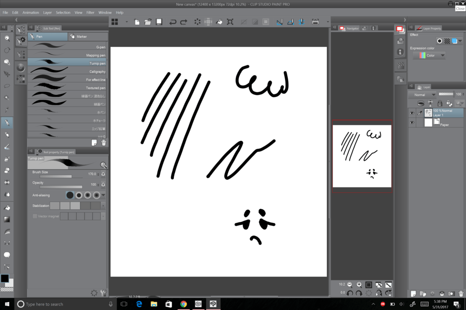Pen sensitivity isn\'t working only on Clipstudio?.