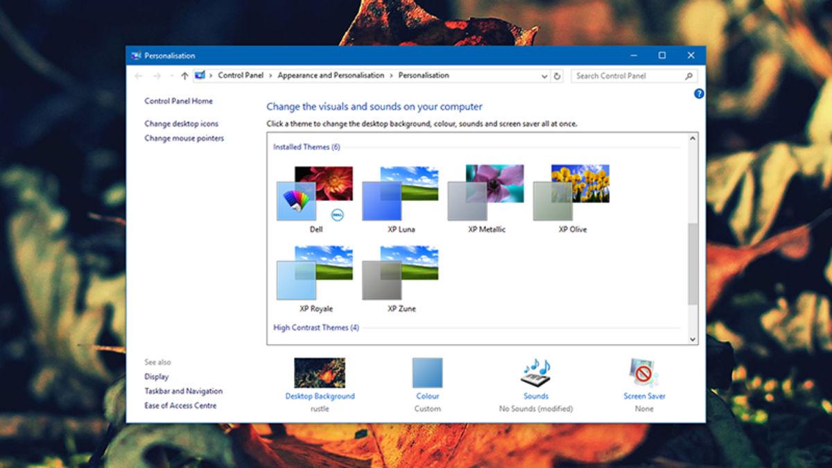 How to Make Windows 10 Look Like Windows XP.