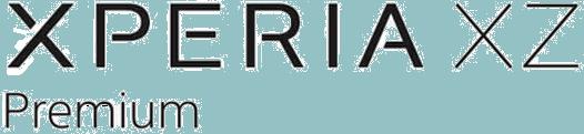 File:Xperia XZ Premium Logo.png.