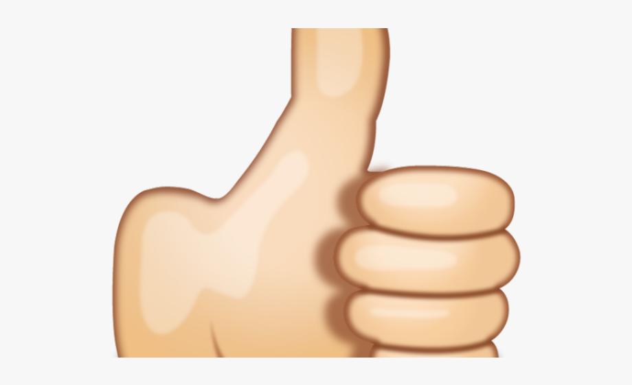 Hand Emoji Clipart Hand Signal.