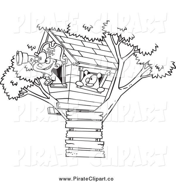 Xray Tree Clipart Black And White