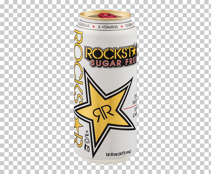 Energy drink Rockstar Sugar substitute, drink PNG clipart.