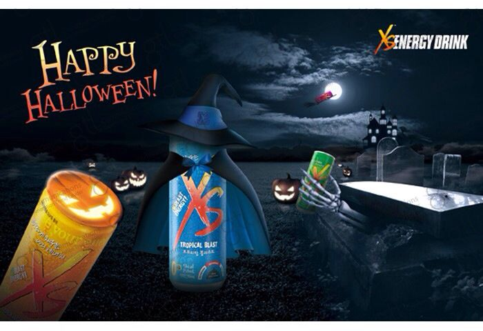 Amway XS ENERGY DRINK October Halloween day Festival Busan.