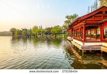 Xuanwu Lake Stock Photos, Royalty.