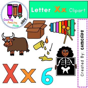 Letter Xx Digital Clipart.