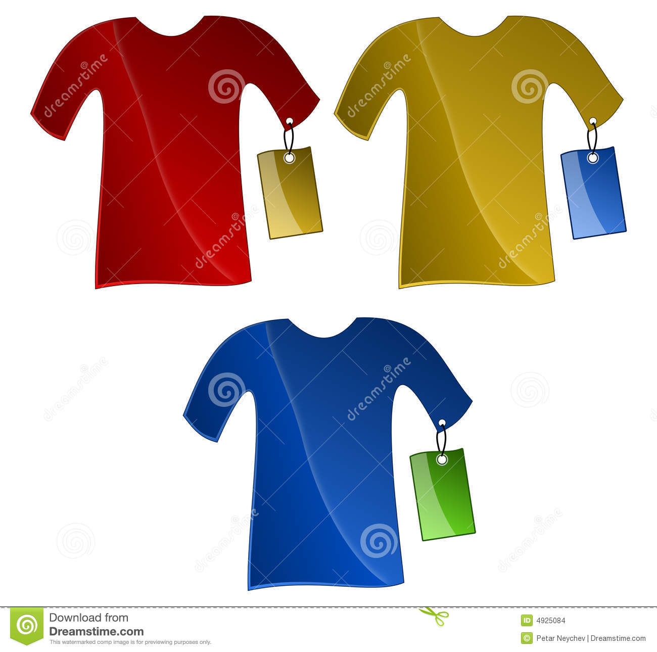 Clothes Tag Clipart.