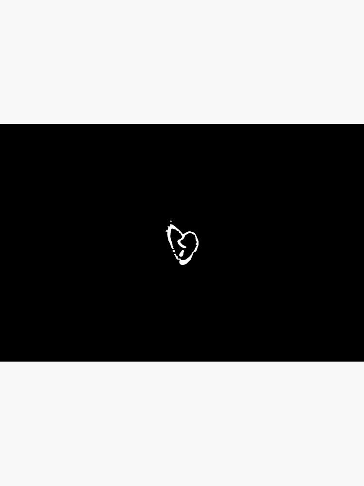 XXXTENTACION Broken Heart Logo.