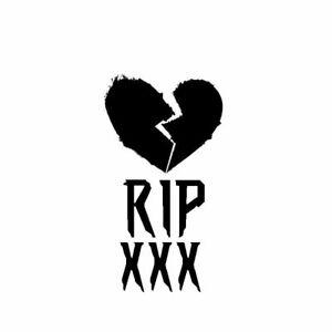 Details about Rip XXXTENTACION sticker/vinyl/Decal Vinyl REVENGE bad vibes  forever.