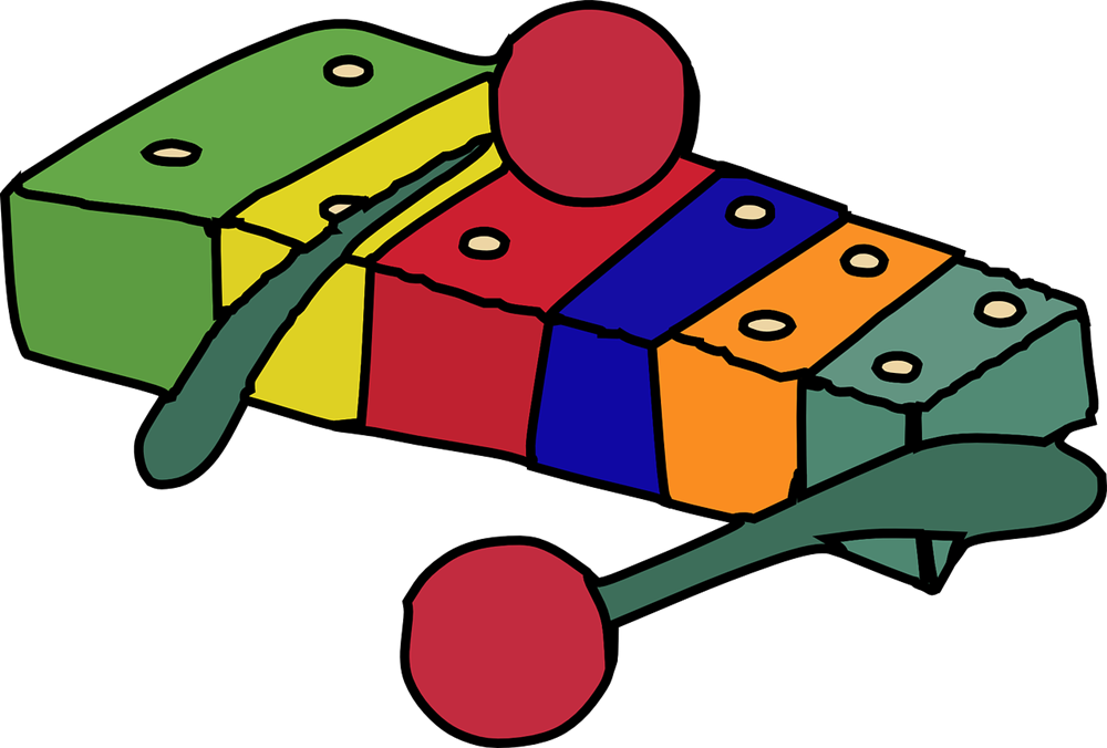 Free to Use & Public Domain Xylophone Clip Art.