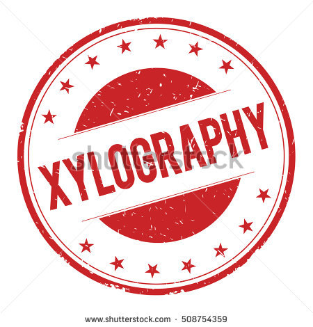 Xylography Stock Photos, Royalty.