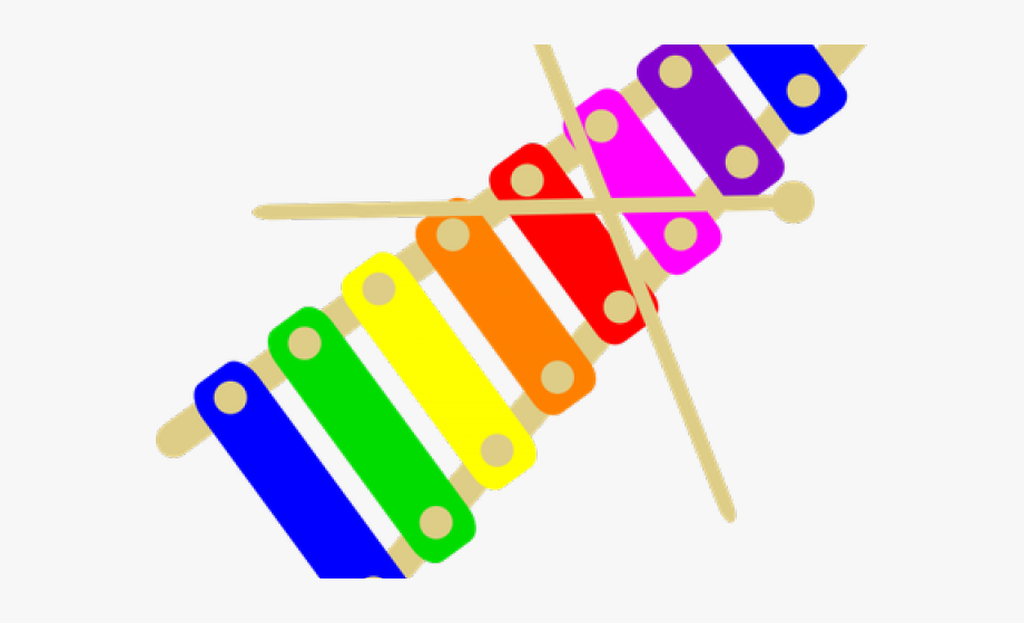Xylophone Clipart Loud.