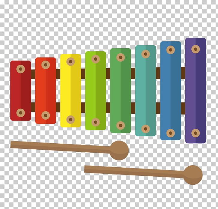Xylophone Musical instrument Cartoon, Children\'s musical.