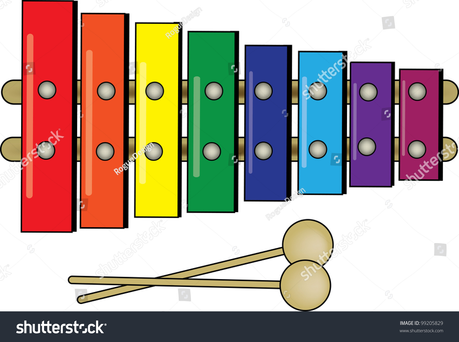 100+ Xylophone Clipart.