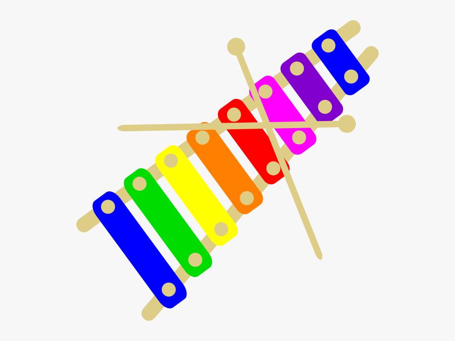 Transparent Xylophone Clipart.