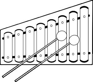 Xylophone Clip Art at Clker.com.