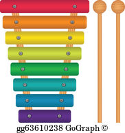 Xylophone Clip Art.