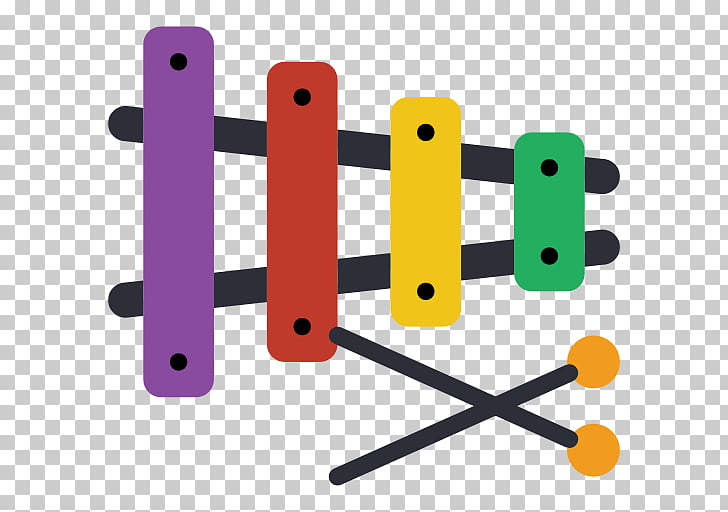 Musical Instruments Xylophone, Xylophone PNG clipart.