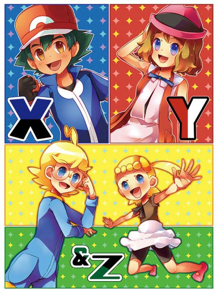 XY/XYZ gang ^^❤.