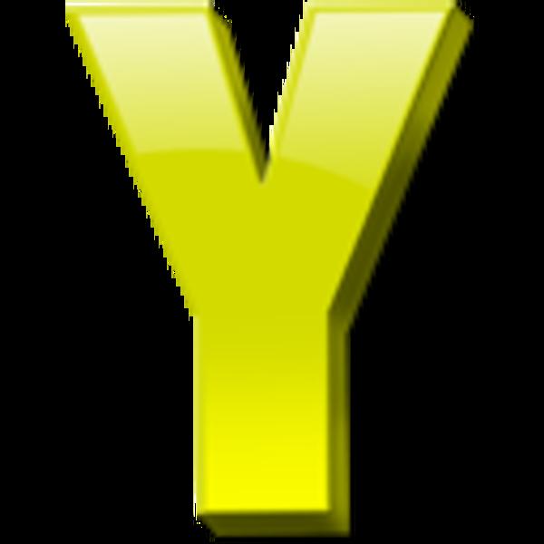 Letter Y Icon 1.