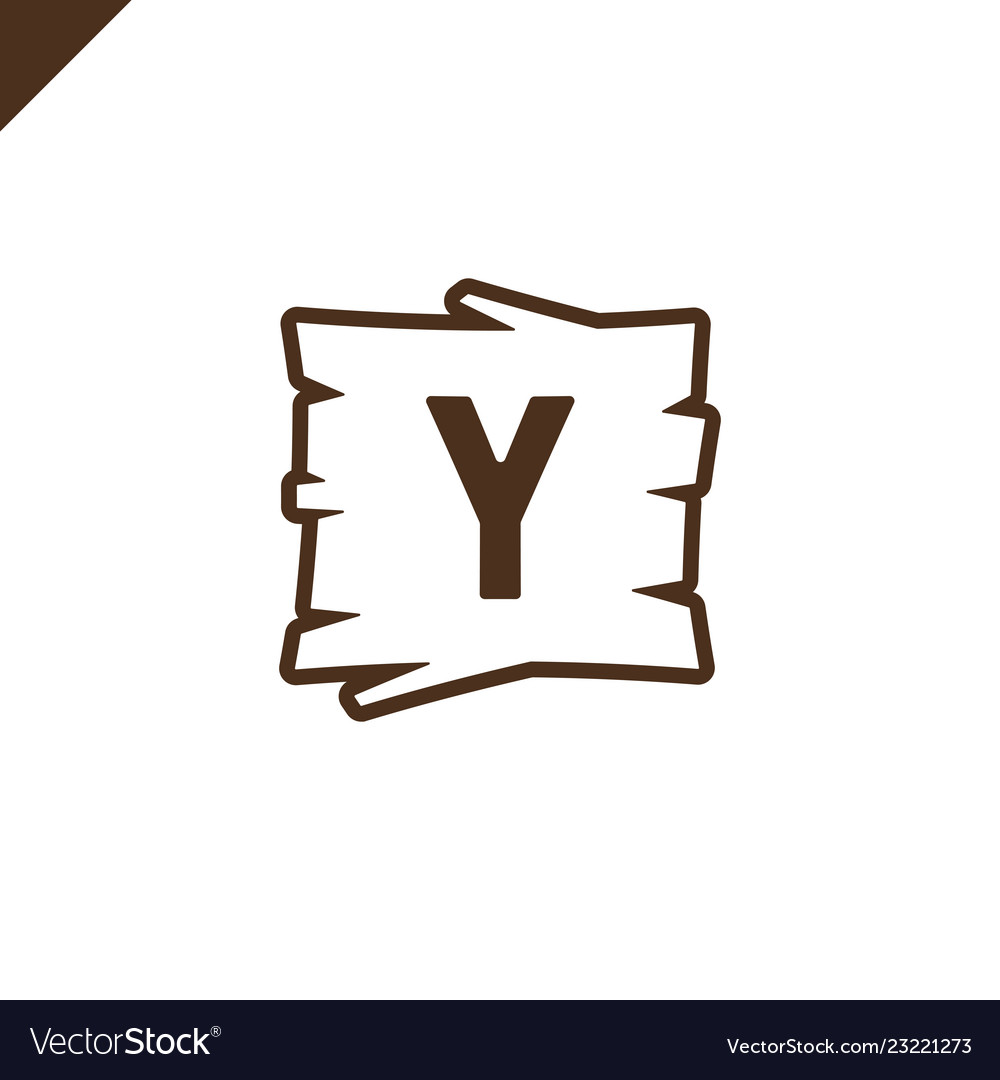 Wooden alphabet blocks with letter y in wood.