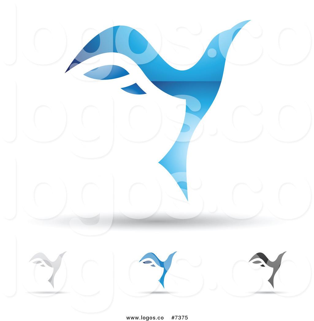 Royalty Free Clip Art Vector Logos of Abstract Letter V.