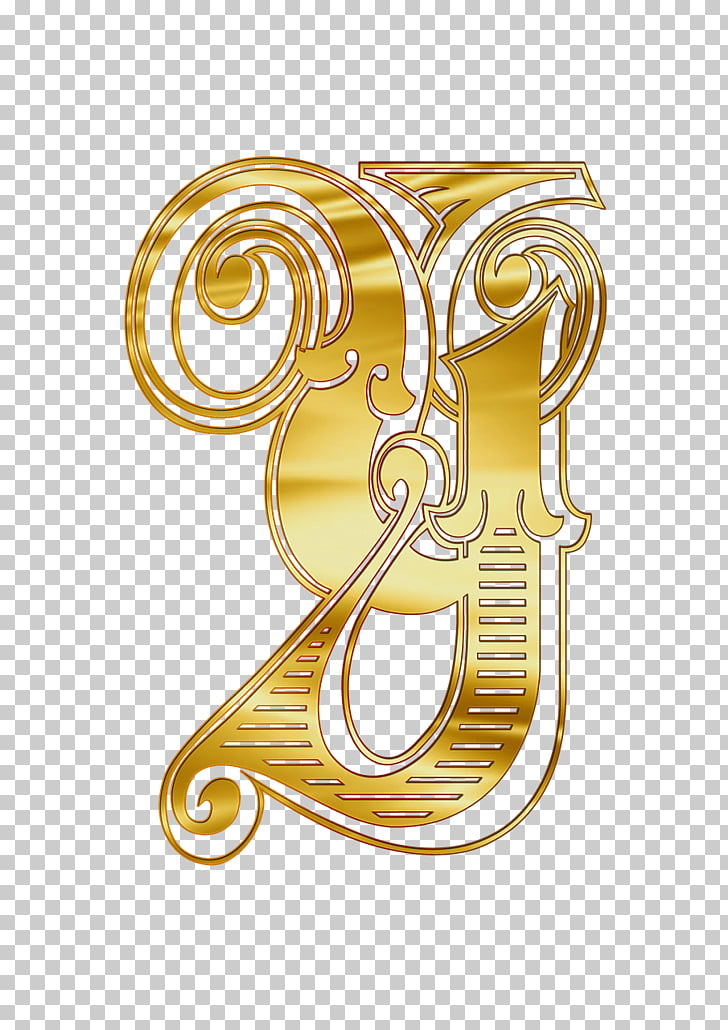 Cyrillic Capital Letter Ou, gold y logo illustration PNG.