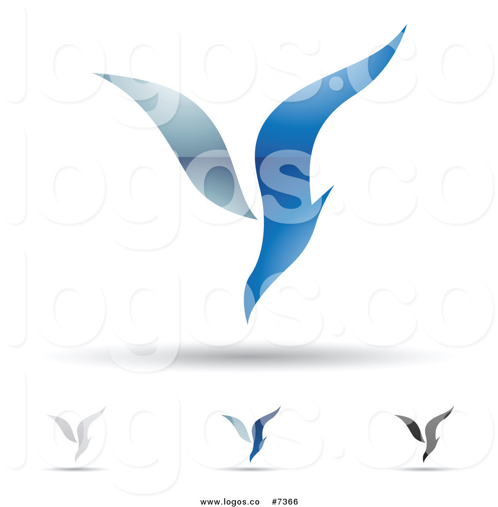 Royalty Free Clip Art Vector Logos of Abstract Letter Y.