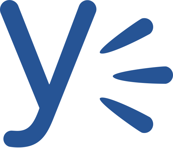 Yammer Y Logo transparent PNG.