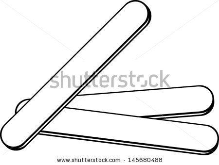 Y Shaped Stick Clipart.