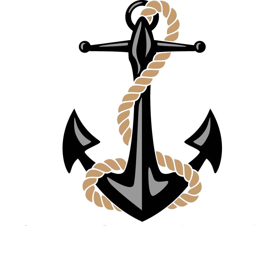Anchor Watercraft Rope Illustration.