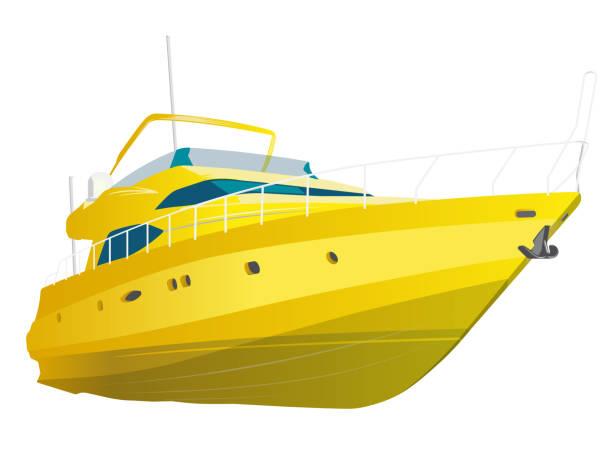 Best Yacht Illustrations, Royalty.